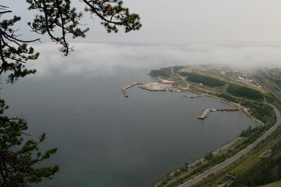 Пристань города Северобайкальск