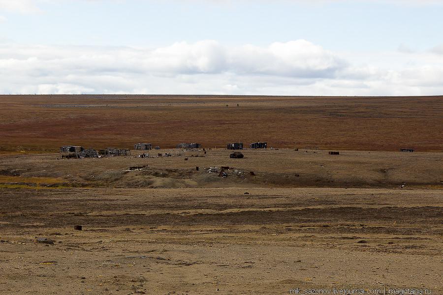 постройки лагеря старателей