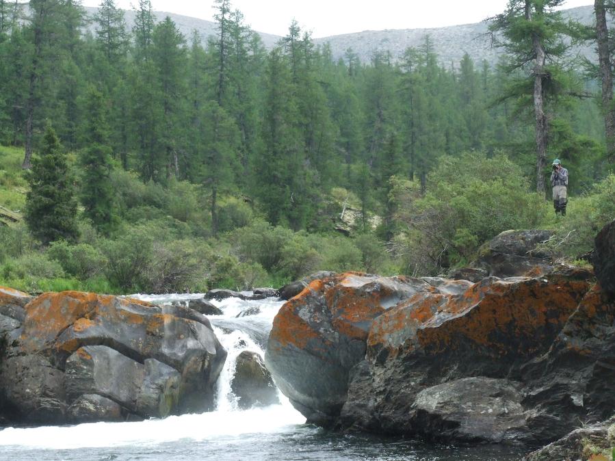 водопад на река Лена
